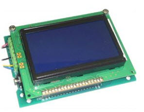 Serial Graphic LCD (GLCD) Module